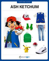 ash ketchum costume guide