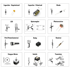 going from schematic to breadboard make Common Wiring Diagram Symbols common parts and their schematic symbols Electrical Schematic Symbols