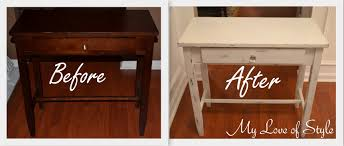Diy tutorial antiquing wood Cabinet My Love Of Style Diy Shabby Chic Table distressing Tutorial My Love Of Style My