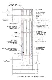 garage door headerPortal Frame Nailing Patterns  Structural engineering other