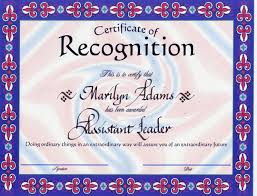 free recognition certificates 5 free certificate of recognition template sample with