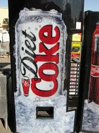 Diet Coke Vending Machine