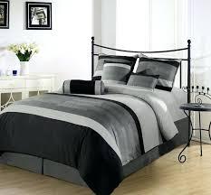 light grey comforter sets luxury bedroom with black gray comforter set king size wrought iron bedding
