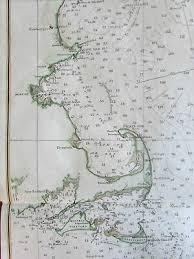 Gulf Of Maine New England 1879 Nautical Chart Us Coast