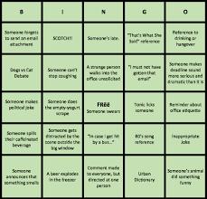Office Bingo