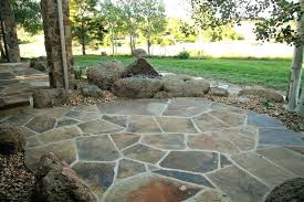 installing flagstone patio flagstone patio brick patio laying flagstone patio over concrete