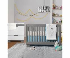gray nursery furniture. babyletto 2 piece nursery set modo 3in1 convertible crib and dresser gray furniture b