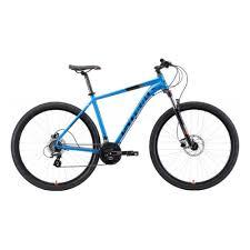 Горный <b>велосипед Stark Router 29.3</b> HD 2019, голубой, рама 20 ...