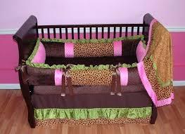 zebra print crib bedding set animal