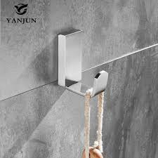 High Quality Coat Rack Yanjun Hat Hook Bathrobe Clothes Hanger Bathroom Coat Rack Bathroom 43