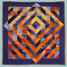 Fleur de Lis Quilts and Accessories: Sunday Quilt Inspiration ... & I may not do blue and orange... but Adamdwight.com
