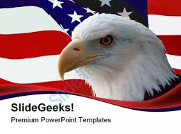 bald eagle template american bald eagle animals powerpoint templates and powerpoint