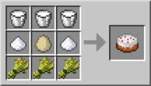 cake minecraft recipe. How To Make A Cake In Minecraft Recipe M