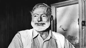 Hemingway smiling
