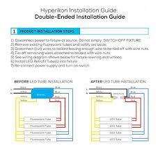 wiring led tube t8 led tube light installation guide \u2022 usbmodels co 3 Lamps Ballast Wiring Diagram Series hyperikon t8 led light tube, 4 ft, cri 90 , dual end powered, T8 Electronic Ballast Wiring Diagram