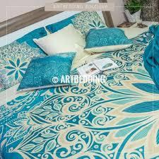 full size of mandala bedding bohemian duvet bedding set turquoise blue duvet cover set bohochic bedding