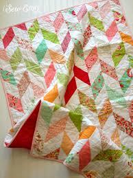Herringbone Quilt- Baby Quilt- Wedding Quilt- Baby Girl's Nursery ... & Herringbone Quilt- Baby Quilt- Wedding Quilt- Baby Girl's Nursery Quilt-  Scrumptious fabric Adamdwight.com
