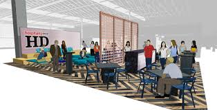 Social Hub Hd Expo Features Social Hub Designed By Rockwell Group