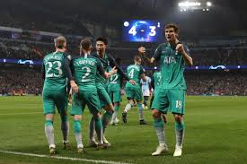 Tottenham video highlights are collected in the media tab for the most popular matches as soon as video appear on video hosting sites like youtube or dailymotion. Champions League Thriller Spurs Lose 4 3 At Manchester City But Knock Favourites Out On Away Goals Abc News