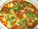 Супы из говядины со стручковой фасолью