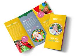 Fun Brochure Templates Children Party Fun Brochure Template Mycreativeshop