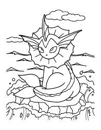 Jolteon Coloring Pages At Getcoloringscom Free Printable