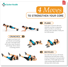 Core Workout Routine Sutter Health