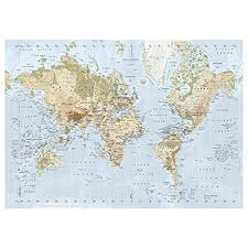 new ikea premiar world map picture with
