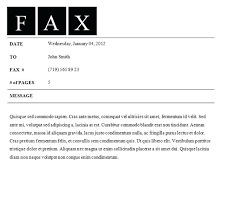 Fax Cover Letter Template Pdf Fax Cover Letter Template Morningtimes Co