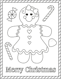 Small Picture Gingerbread Girl Coloring Pages To Print Coloring Pages