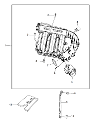 2010 dodge charger intake manifold diagram i2234753