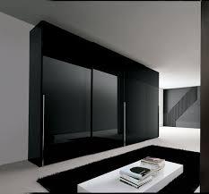 Elegant Awesome Look Modern Fitted Wardrobes Design For Bedroom 4 Drawers Dark  Brown Black Cool Fitted Bedroom