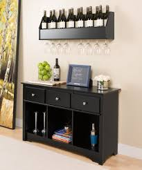 wine rack console table. Prepac Floating Wine Rack (shown On Top) And Living Room Console Table