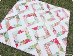 Free Charm Pack Quilt Patterns - U Create & Fresh Diamonds Quilt Pattern by Samelia's Mum Adamdwight.com