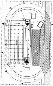 Открытого хранения строительных материалов конструкций и деталей  крана к оси здания 7 контрольный груз 8 конец рельса 9 тупик 10 база крана опп ось подкранового пути α угол естественного откоса грунта