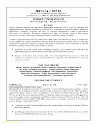 Ba Resume Sample Best Of Top Result Senior Business Analyst Resume