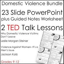Domestic Violence Resource Bundle October Is Domestic Violence Awareness Month