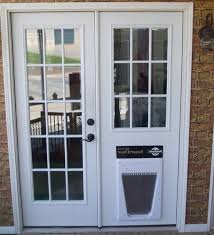 creative of french doors with built in dog door sliding doors with french door with dog door built in new trends