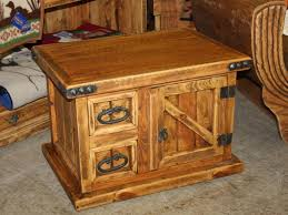 Image Of: Rustic Coffee Table And End Tables