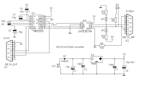 rs232 to rs485 wiring diagram rs232 image wiring the dci bus a rs485 home network on rs232 to rs485 wiring diagram