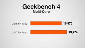 Imac Speed Comparison Chart Showdown Apples 2015 Imac Vs 2017 Imac