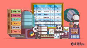 the pandas dataframe make working with