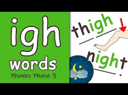 Ks1 english phase 3 phonics learning resources for adults, children, parents and teachers. Igh Words Phase 3 Phonics Youtube Phonics Phonics Activities Phonics Sounds