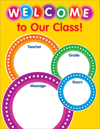 Welcome Chart Images Color Your Classroom Welcome Chart Scholastic