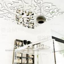 hanging ceiling 3d mirror wall art mural sample removable stickers vinyl decals surface on 3d mirror wall art stickers with wall art design ideas hanging ceiling 3d mirror wall art mural