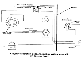 mopar engine diagrams chrysler electronic ignition system