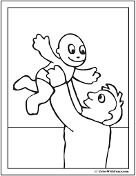 Small Picture Dad Son Coloring Page Coloring Coloring Coloring Pages