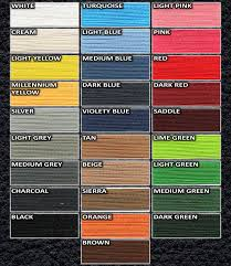 Isuzu Colour Chart Color Chart Redlinegoods Shift Boots And Steering Wheel Covers