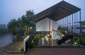 environmentally friendly office. Commercial And Environmentally Friendly: Inventive Eco-friendly Office Within Vietnam Friendly