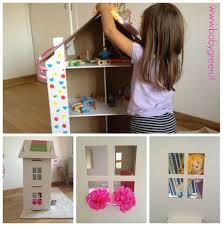 La casa delle bambole di cartone: creativa ed ecologica babygreen